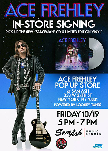 The Official ACE FREHLEY Magazine PRE-ORDER
